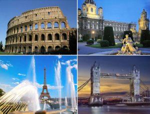 Комбинированные туры в Европу