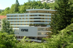 Curie 3*, Spa Hotel