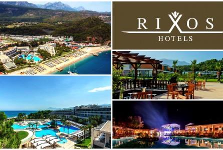 Турция RIXOS HOTELS с вылетом из Астаны на 29 апреля ,13 и 31 мая