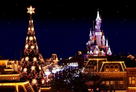Франция : Диснейленд на Новый год!!!