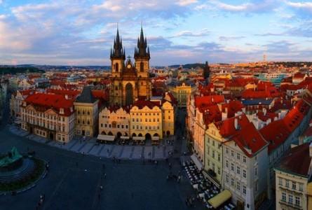 Прага из Астаны !!!